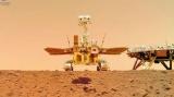 Китайский марсоход сделал селфи