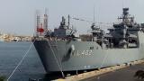 Tурецкий флот у берегов Ливии