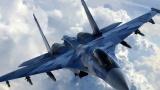 Cу-27 прогнал шведского разведчика